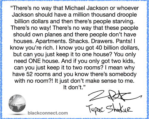 Tupac on Capitalism