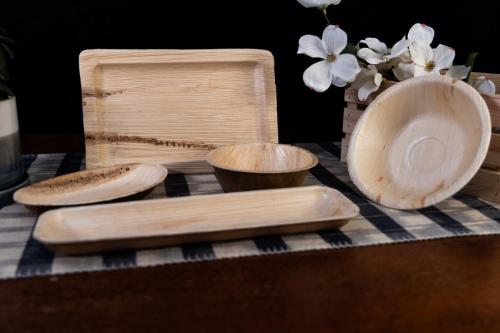 Dtocs Palm leaf tableware